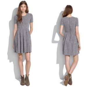 Madewell Gray Sweatshirt Dress